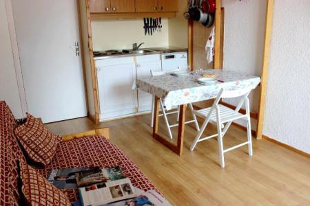 Location au ski Studio 2 personnes (402) - Résidence les Hauts de Vanoise - Val Thorens - Séjour