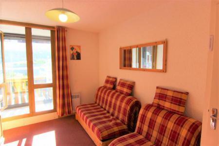 Location au ski Studio 3 personnes (513) - Résidence les Hauts de Vanoise - Val Thorens - Séjour