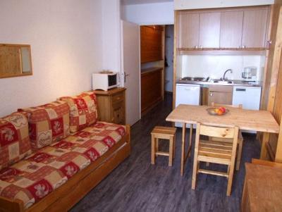 Location au ski Studio 3 personnes (604) - Residence Les Hauts De Vanoise - Val Thorens - Canapé