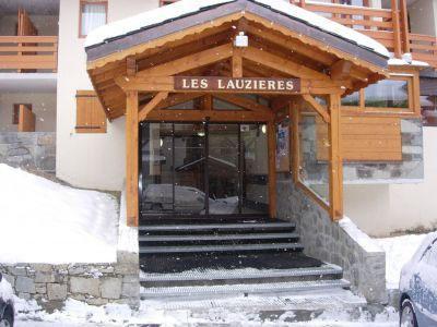Location au ski Residence Les Lauzieres - Val Thorens - Extérieur hiver