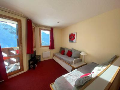 Rent in ski resort 3 room apartment cabin 6 people (H6) - Résidence les Temples du Soleil Nazca - Val Thorens - Living room