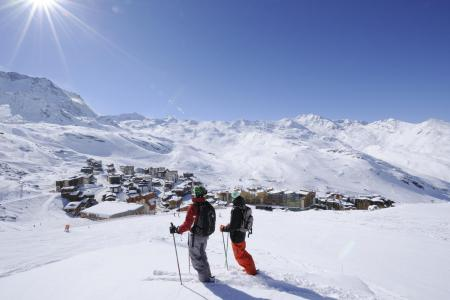 Rent in ski resort 3 room apartment cabin 6 people (H6) - Résidence les Temples du Soleil Nazca - Val Thorens