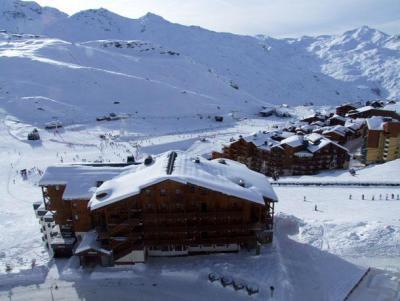 Location au ski Appartement 2 pièces cabine 6 personnes (1003) - Résidence les Trois Vallées - Val Thorens - Canapé