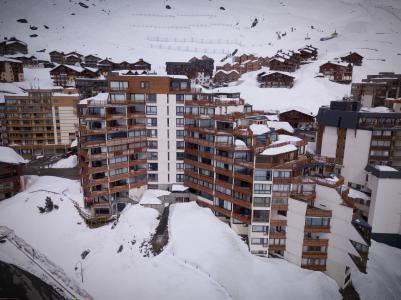 Location au ski Appartement 2 pièces cabine 6 personnes (1003) - Residence Les Trois Vallees - Val Thorens - Lits gigognes