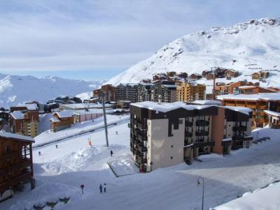 Location au ski Studio cabine 4 personnes (513) - Residence Les Trois Vallees - Val Thorens - Extérieur hiver