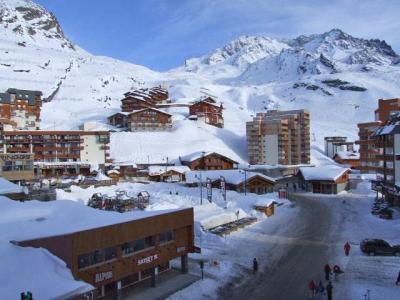 Location au ski Studio 2 personnes (702) - Residence Les Trois Vallees - Val Thorens - Extérieur hiver