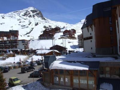 Location au ski Studio cabine 4 personnes (520) - Residence Les Trois Vallees - Val Thorens - Extérieur hiver
