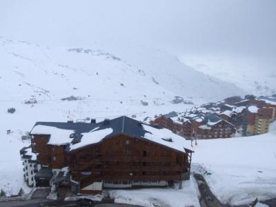 Location au ski Studio 3 personnes (906) - Residence Les Trois Vallees - Val Thorens - Extérieur hiver