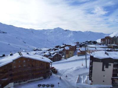 Location au ski Studio 2 personnes (709) - Residence Les Trois Vallees - Val Thorens - Extérieur hiver