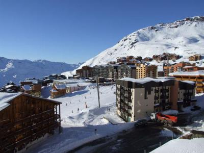 Location au ski Studio 3 personnes (515) - Residence Les Trois Vallees - Val Thorens - Canapé
