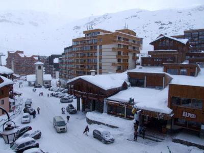 Location au ski Studio 3 personnes (623) - Residence Les Trois Vallees - Val Thorens - Canapé