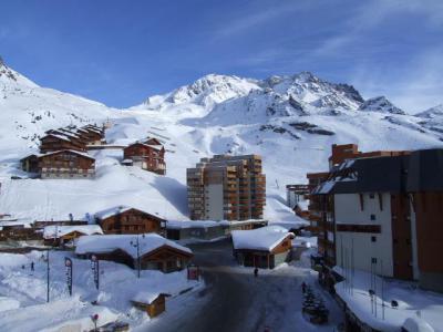 Location au ski Studio 3 personnes (818) - Résidence les Trois Vallées - Val Thorens - Lavabo