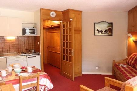 Location au ski Studio 3 personnes (818) - Residence Les Trois Vallees - Val Thorens - Séjour