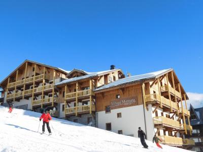 Location au ski Résidence Montana Plein Sud - Val Thorens - Extérieur hiver