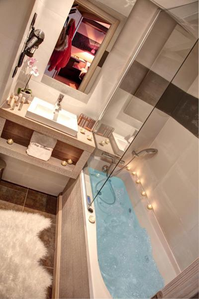 Location au ski Appartement 4 pièces mezzanine 8 personnes - Résidence Montana Plein Sud - Val Thorens - Salle de bains