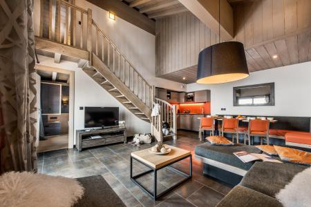 Location au ski Appartement 4 pièces mezzanine 8 personnes - Résidence Montana Plein Sud - Val Thorens - Séjour