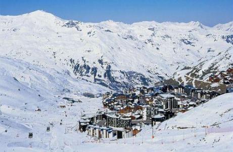 Location au ski Residence Pierre & Vacances Le Machu Pichu - Val Thorens - Extérieur hiver