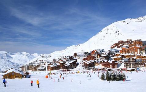 Location au ski Studio 3 personnes (99) - Résidence Reine Blanche - Val Thorens - Extérieur hiver