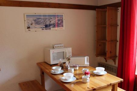 Location au ski Appartement 2 pièces 4 personnes (65) - Résidence Reine Blanche - Val Thorens - Séjour