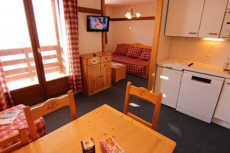 Location au ski Appartement 2 pièces cabine 4 personnes (112) - Résidence Reine Blanche - Val Thorens - Cuisine