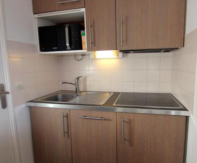 Location au ski Appartement 2 pièces cabine 4 personnes (23) - Residence Reine Blanche - Val Thorens - Table