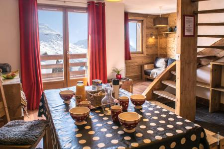Location au ski Appartement duplex 3 pièces cabine 6 personnes (115) - Résidence Reine Blanche - Val Thorens - Séjour
