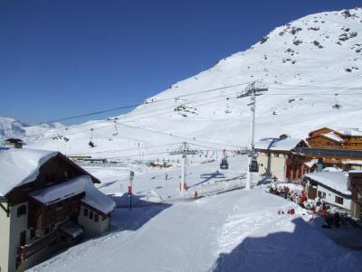 Location au ski Studio cabine 4 personnes (86) - Residence Reine Blanche - Val Thorens - Extérieur hiver
