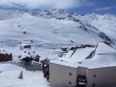 Location au ski Appartement 2 pièces cabine 4 personnes (74) - Residence Reine Blanche - Val Thorens - Extérieur hiver