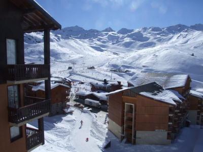 Location au ski Studio 3 personnes (99) - Residence Reine Blanche - Val Thorens - Extérieur hiver