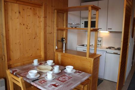 Location au ski Studio 3 personnes (67) - Résidence Reine Blanche - Val Thorens - Kitchenette