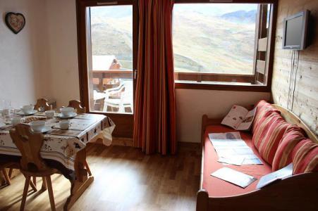 Location au ski Studio cabine 4 personnes (80) - Résidence Reine Blanche - Val Thorens - Séjour