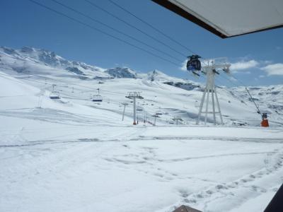 Location au ski Studio 2 personnes (C2) - Residence Roc De Peclet - Val Thorens - Extérieur hiver
