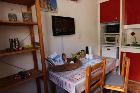 Location au ski Studio 2 personnes (125) - Residence Roche Blanche - Val Thorens - Lavabo
