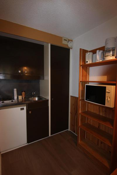 Location au ski Studio 2 personnes (145) - Residence Roche Blanche - Val Thorens - Kitchenette