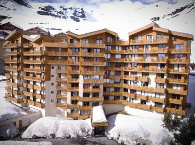 Location au ski Studio coin montagne 4 personnes (63) - Résidence Roche Blanche - Val Thorens - Douche