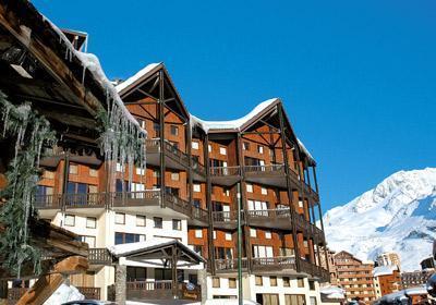 Location au ski Residence Silveralp - Val Thorens - Extérieur hiver