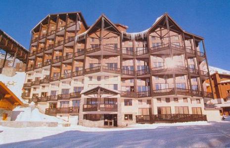 Location au ski Studio mezzanine 5 personnes - Residence Silveralp - Val Thorens - Extérieur hiver