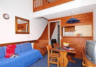 Location au ski Residence Silveralp - Val Thorens - Séjour