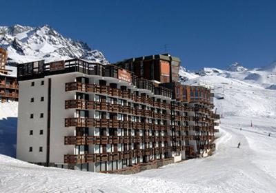 Location au ski Residence Tourotel - Val Thorens - Extérieur hiver