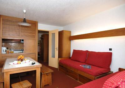 Location au ski Residence Tourotel - Val Thorens - Canapé-lit