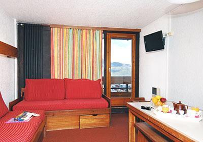 Location au ski Residence Tourotel - Val Thorens - Coin séjour