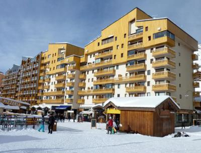 Location au ski Studio 2 personnes (164) - Résidence Vanoise - Val Thorens - Coin séjour