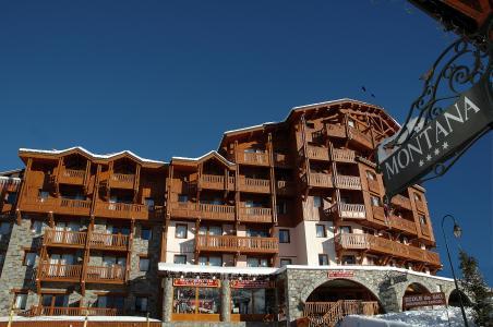 Location au ski Residence Village Montana - Val Thorens - Extérieur hiver