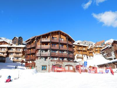 Location au ski Résidence Village Montana - Val Thorens - Extérieur hiver