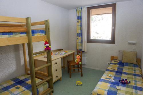 Location au ski Appartement 3 pièces 5 personnes - Residence Les Gorges Rouges - Valberg / Beuil - Chambre