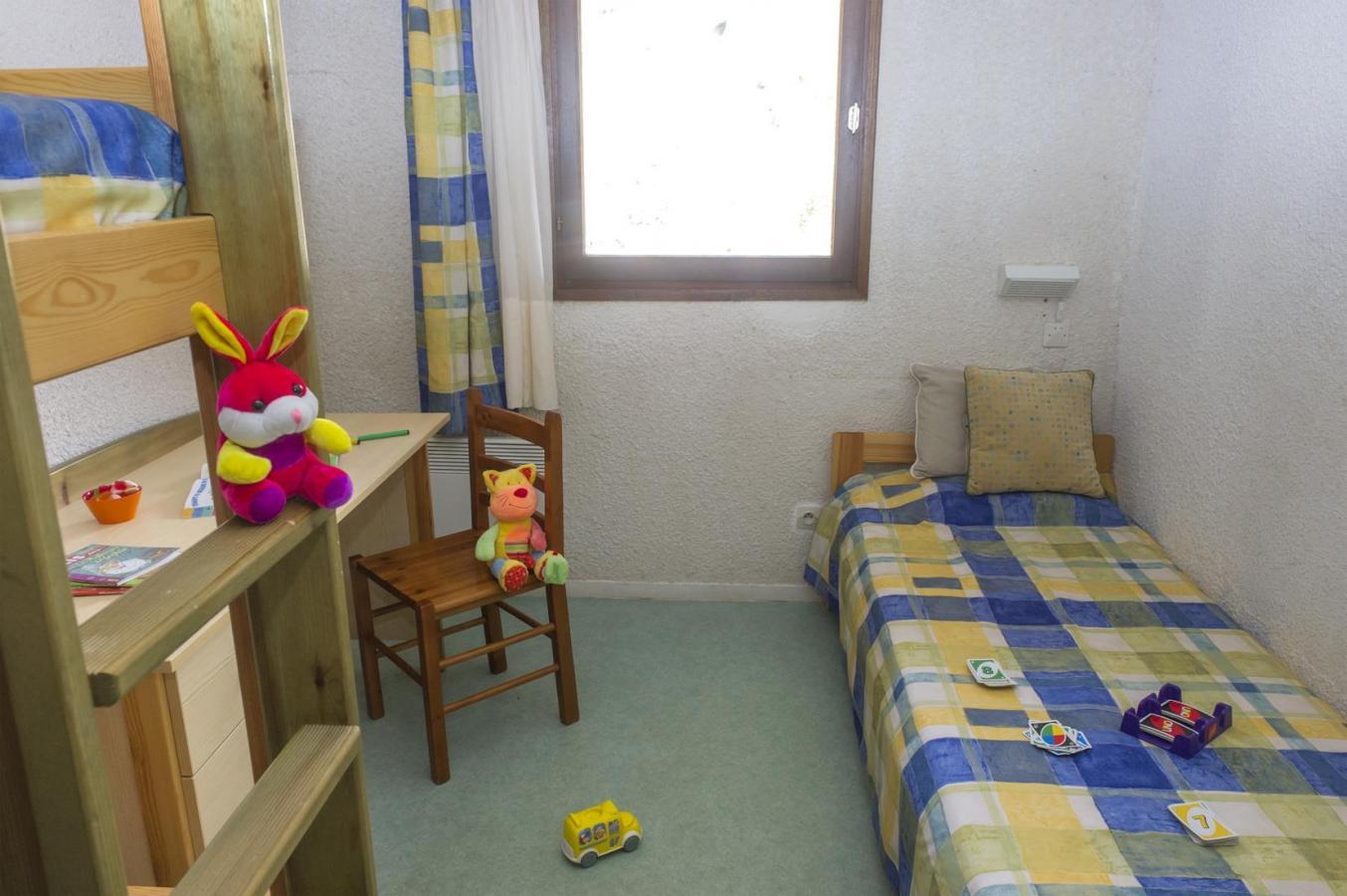 Location au ski Appartement 4 pièces 7 personnes - Residence Les Gorges Rouges - Valberg / Beuil - Chambre