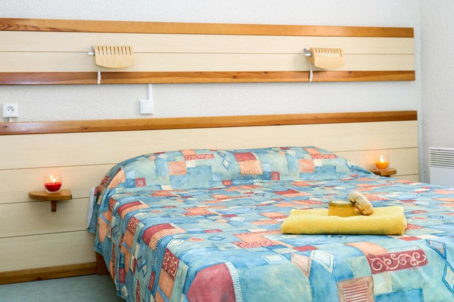 Аренда на лыжном курорте Résidence les Gorges Rouges - Valberg / Beuil - Двухспальная кровать
