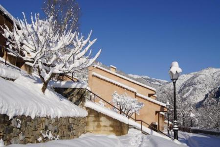 Аренда на лыжном курорте Résidence les Gorges Rouges - Valberg / Beuil - зимой под открытым небом