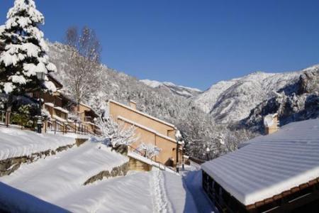 Location au ski Residence Les Gorges Rouges - Valberg / Beuil - Extérieur hiver