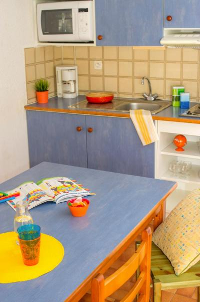 Location au ski Residence Les Gorges Rouges - Valberg / Beuil - Kitchenette